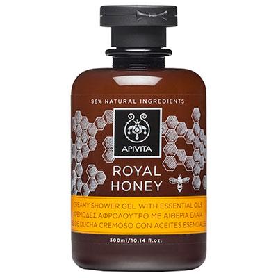 Apivita Royal Honey Κρεμώδες Αφρόλουτρο με θυμαρίσιο μέλι 300ml
