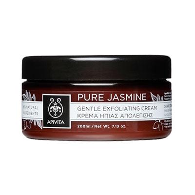 Apivita Pure Jasmine Κρέμα Ήπιας Απολέπισης με γιασεμί 200ml