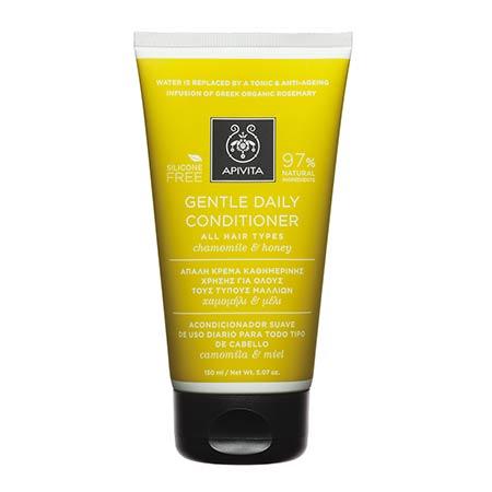 Apivita Απαλή Κρέμα Καθημερινής Χρήσης για Όλους τους Τύπους Μαλλιών Χαμομήλι & Μέλι 150ml