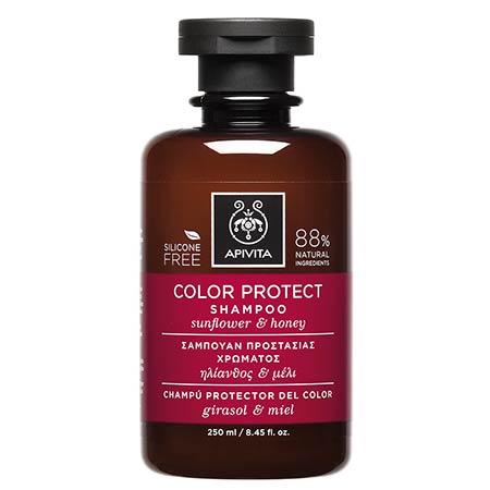 Apivita Σαμπουάν Προστασίας Χρώματος με ηλίανθο & μέλι 250ml