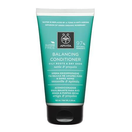 Apivita Κρέμα Εξισορρόπησης για Μαλλιά με Λιπαρές Ρίζες & Ξήρες Ακρες Τσουκνίδα & Πρόπολη 150ml