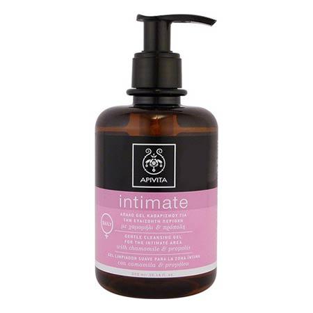Apivita Intimate  DAILY - Απαλό gel καθαρισμού για την ευαίσθητη περιοχή με χαμομήλι & πρόπολη  300ml