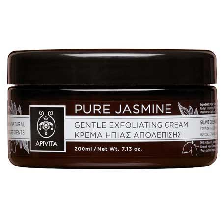 Apivita Pure Jasmine, Κρέμα Ήπιας Απολέπισης με Γιασεμί 200ml