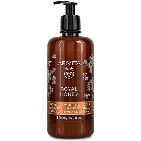 Apivita Royal Honey Eco Pack Κρεμώδες Αφρόλουτρο με Μέλι 500ml