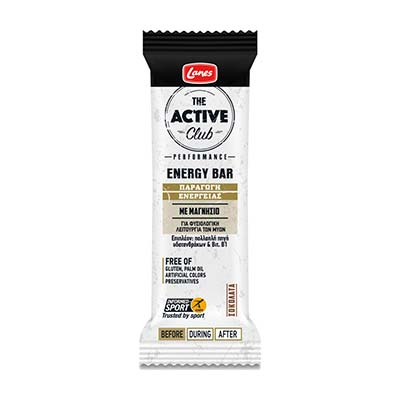 Lanes The Active Club Energy Bar Chocolate 30gr