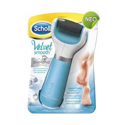 Scholl Velvet Soft Ηλεκτρική Λίμα Ποδιών με Κρυστάλλους Διαμαντιών