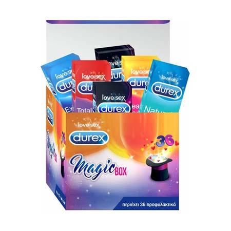 Durex Magic Box Προφυλακτικά 36τεμ. - Limited Edition