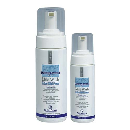 PROMO Frezyderm Mild Wash Foam 150ml + 80ml ΔΩΡΟ