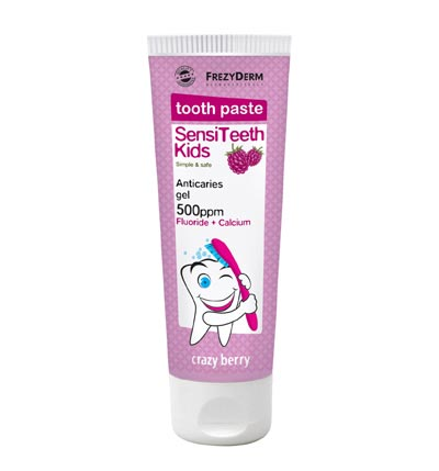 FREZYDERM SENSITEETH KIDS TOOTHPASTE 500ppm 50ml