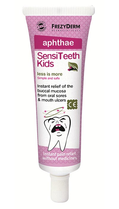 FREZYDERM SENSITEETH KIDS APHTHAE GEL 25ml