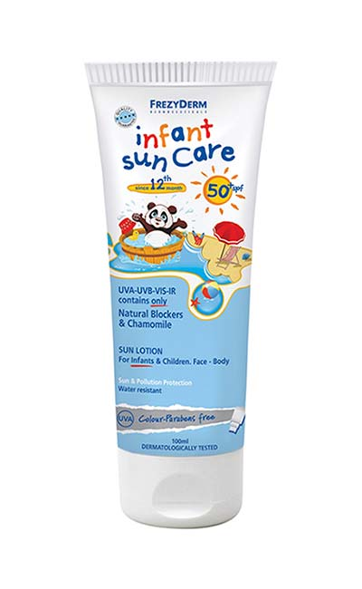 Frezyderm Infant Sun Care Spf50+ (Για νήπια 12+), 100ml
