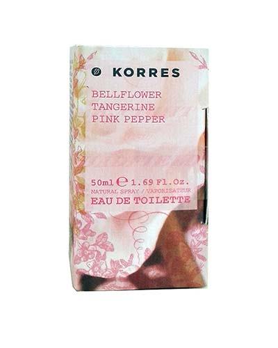 Korres Γυναικείο Άρωμα Bellflower - Tangerine - Pink Pepper Eau de Toilette 50ml