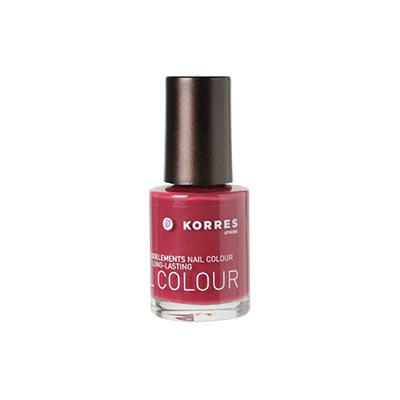 Korres Nail Colour Βερνίκι Νυχιών 60 BERRY ROSE 10mL