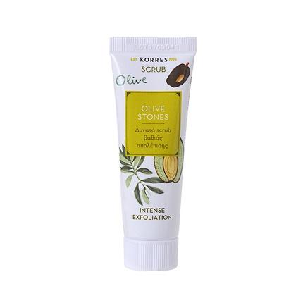 Korres Olive Stones Δυνατό Scrub Βαθιάς Απολέπισης Με Κουκούτσια Ελιάς 18ml