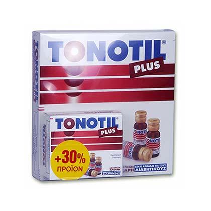 Tonotil PLUS 10 φιαλίδια x 10ml +30% extra προϊόν