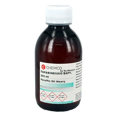 Chemco Parafin Oil Heavy Παραφινέλαιο Βάρυ 200ml