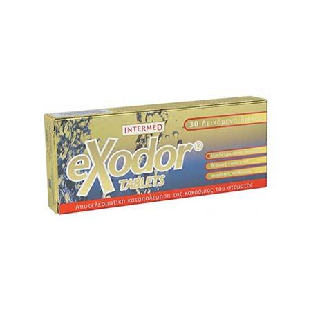 Intermed eXodor tablets, 30 λειχόμενα δισκία
