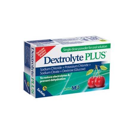 Dextrolyte Plus, 10 φακελίσκοι