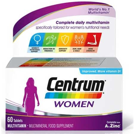 Centrum Women Complete From A to Zinc (Μεγάλο Κουτί) 60 Δίσκια