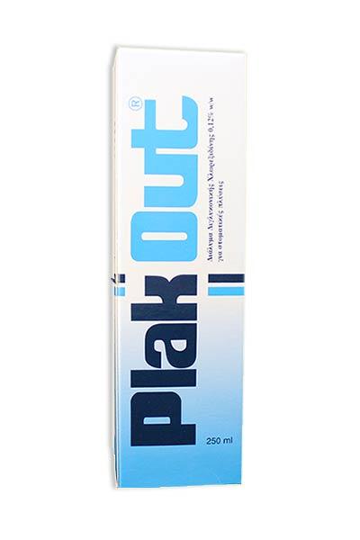 Plak Out Στοματικό Διάλυμα Διγλυκονικής χλωρεξιδίνης 0,12%, 250ml