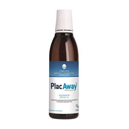 Plac Away Thera Plus 0,12%. Στοματικό Διάλυμα 250ml.