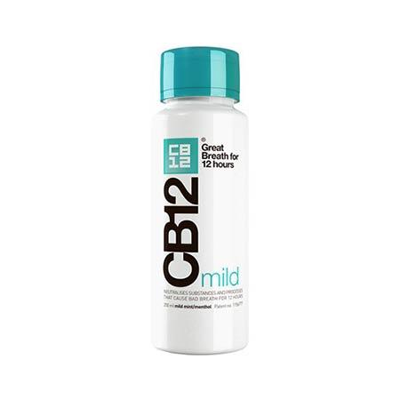 CB12 mild Στοματικό διάλυμα κατά της κακοσμίας με ήπια γεύση μέντας 250ml