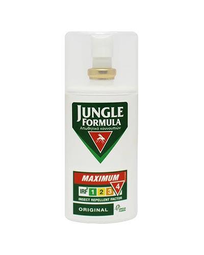 Jungle Formula Εντομοαπωθητικό Spray Maximum Original με IRF4, 75ml