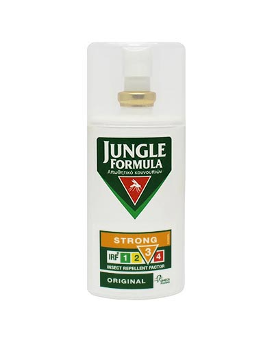 Jungle Formula Εντομοαπωθητικό Spray Strong Original με IRF3, 75ml