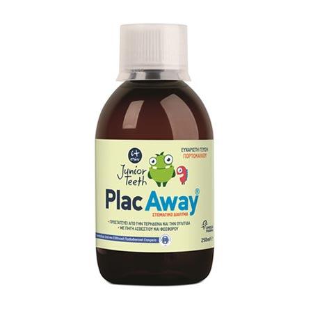 Omega Pharma Plac Away Junior Στοματικό Διάλυμα για παιδιά άνω των 6 ετών 250ml