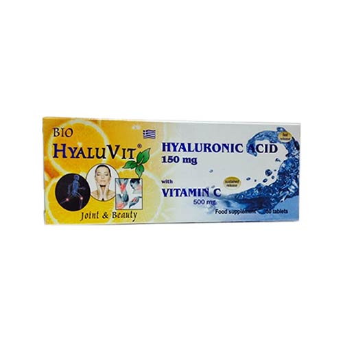 Bio Hyaluvit  Hyaluronic Acid with Vitamin C 30 tabs