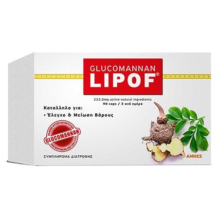 GLUCOMANNAN LIPOF 90caps