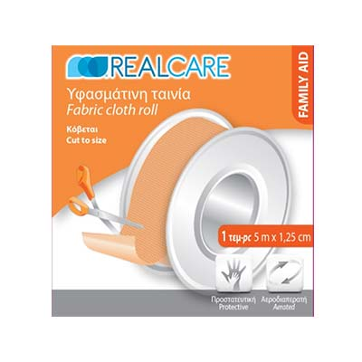 REAL CARE Υφασμάτινη ταινία Family Aid 5mx1.25cm