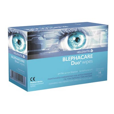 Blephacare Duo Μαντηλάκια μιας Χρήσης 14 τεμ.