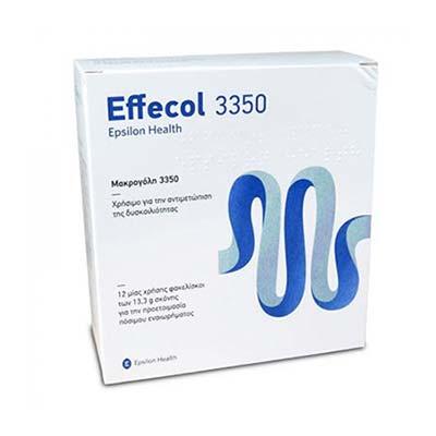 Epsilon Health Effecol 3350 - Για Χρόνια Δυσκοιλιότητα 12 φακελίσκοι