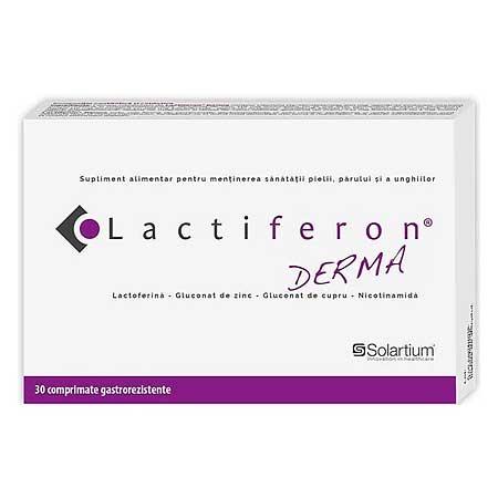 Lactiferon Derma Συμπλήρωμα Διατροφής με Λακτοφερρίνη 30tabs