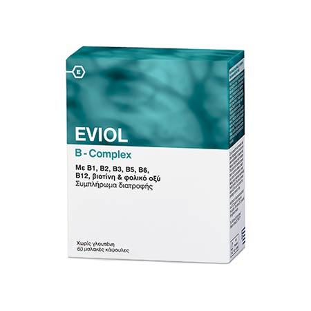 Eviol B-Complex, 60 μαλακές κάψουλες