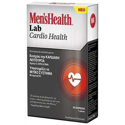 Mens Health Lab Cardio Health 30 κάψουλες