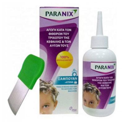 Paranix Shampoo, Σαμπουάν Αγωγή Κατά των Φθειρών του Τριχωτού της Κεφαλής & των Αυγών 200ml