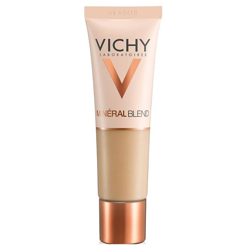 Vichy MineralBlend Hydrating Fluid Foundation - 09 Agate- 30ml