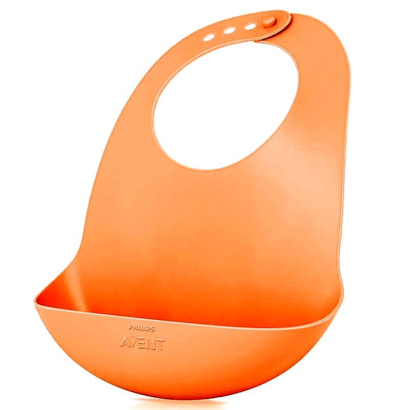 PHILIPS AVENT Προστατευτικό Ταΐσματος Πορτοκαλί Χρώμα (SCF736/00) - 1τμχ