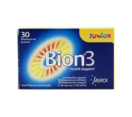 BION3 Junior, 30 μασώμενα δισκία