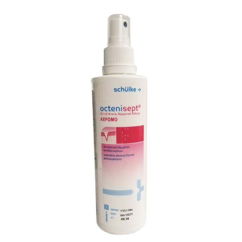 OCTENISEPT (0,1+2)% w/w αντισηπτικό δέρματος και βλεννογόνων 250ml