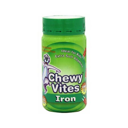 Chewy Vites Jelly Bears Iron 60 Ζελεδάκια