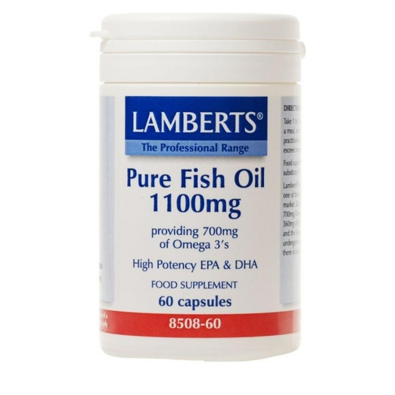 Lamberts Pure Fish Oil 1100mg 60 caps