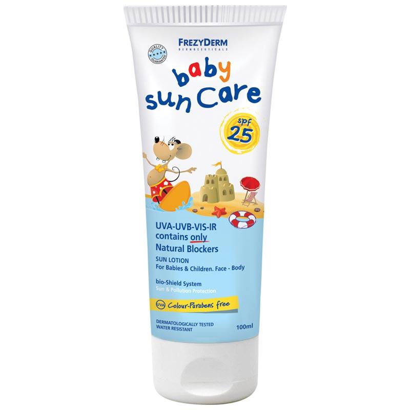 Frezyderm Baby Sun Care Βρεφικό Αντιηλιακό Γαλάκτωμα SPF25 100ml