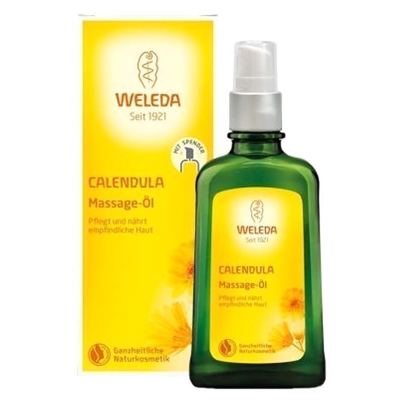 Weleda Calendula Massage Oil 100ml - Λάδι για μασάζ με καλεντούλα