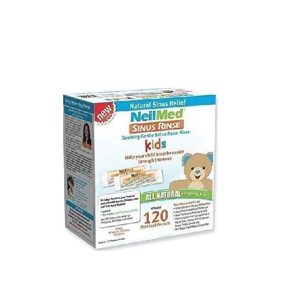 NeilMed - Sinus Rinse Kids Ανταλλακτικά Φακελάκια Ρινικών Πλύσεων για Παιδιά - 120 Φακελάκια