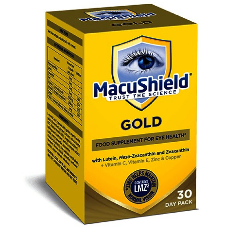 Macushield Gold 90 κάψουλες