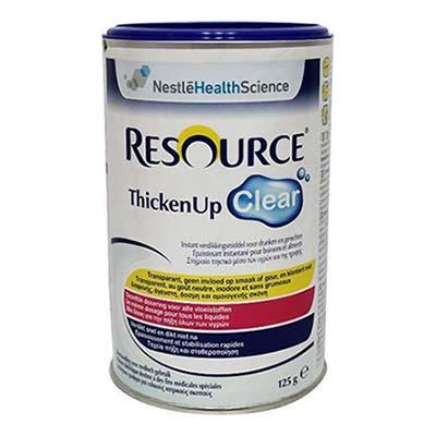 Nestle Resource Thicken Up Clear Σκόνη 125gr