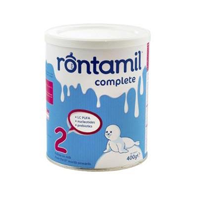 Rontamil Complete 2 Γάλα σε σκόνη από τον 6ο μήνα, 400gr